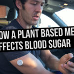 How a Plant-Based Meal Affects Blood Sugar in Real Time
