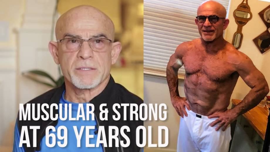 Strong and Muscular at 69 years old